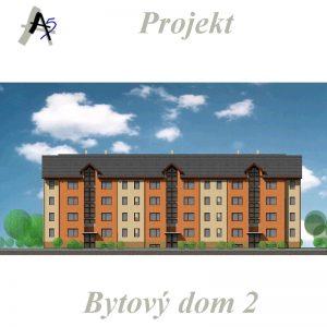 architekt v Trnave - projekt bytového domu