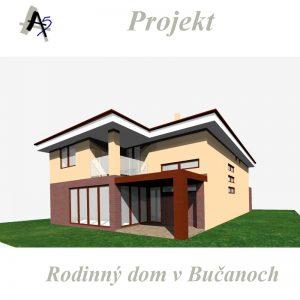 architekt v Trnave - rodinný dom Bučany
