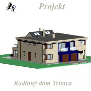 architekt v Trnave - bytový dom Trnava