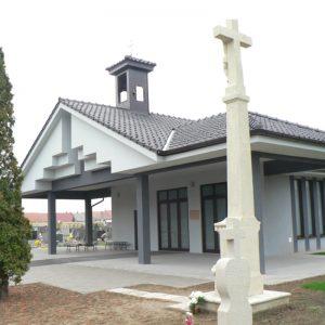 architekt v Trnave - dom smútku Madunice