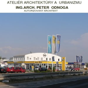 architekt v Trnave - projektovanie Opel Chevrolet